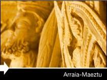 Diseño web de la página del Ayuntamieno de Arraia-Maeztu. Pais Vasco.