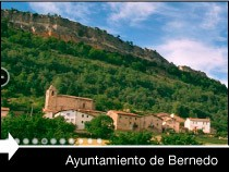 Diseño web de la página del Ayuntamiento de Bernedo. Álava. Pais Vasco.