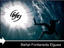 Diseño web de la página de Beñat Fontaneda. Vitoria-Gasteiz. Pais Vasco.
