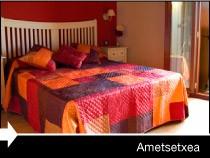 Diseño web de la página de Ametsetxea. Bernedo. Álava. País Vasco.