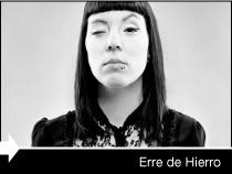 Diseño web de la página del fotógrafo Erre de Hierro. Vitoria-Gasteiz.