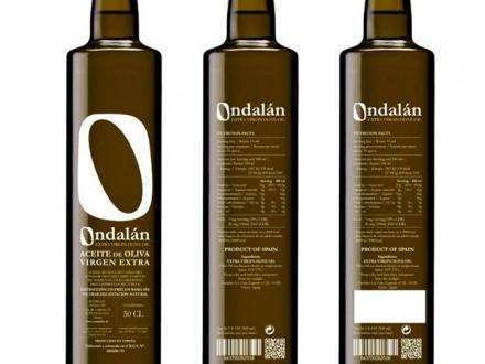 Diseño de la identidad gráfica, etiquetas, soportes de comunicación, fotografías y Web de Bodegas Ondalán.