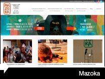 Diseño web de MAZOKA Marrazki Azoka. Vitoria-Gasteiz. Pais Vasco