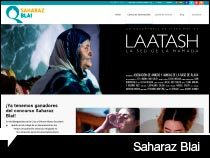 Diseño web del concurso online Saharaz Blai. Vitoria-Gasteiz. Miñano. Pais Vasco.