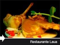 Restaurante Laua Jantokia. Diseño Web. Langarika. Álava.