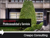 Diseño web de la asesoría Crespo Consulting. Vitoria-Gasteiz. Álava. País Vasco.