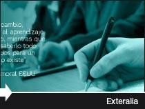 Diseño web de de la empresa de formación y liderazgo y negociación internacional Exteralia. País Vasco.