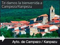 Diseño web del Ayuntamiento de Campezo / Kanpezuko Udala. Campezo. Álava. País Vasco.